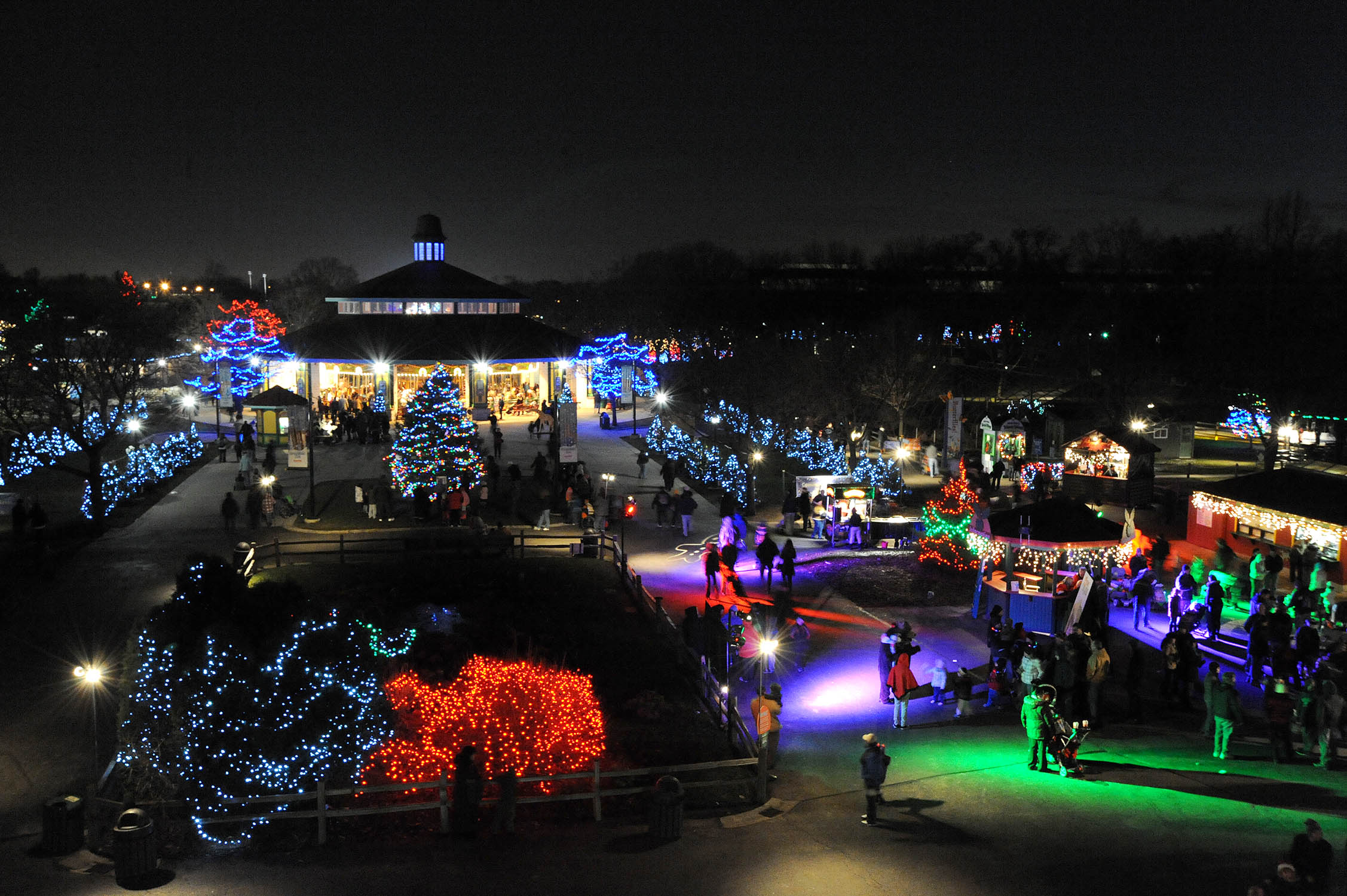 Brookfield Zoo Holiday Lights